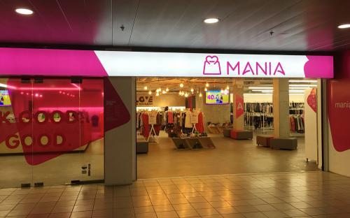 MANIA франчайз магазин с поглед към бъдещето