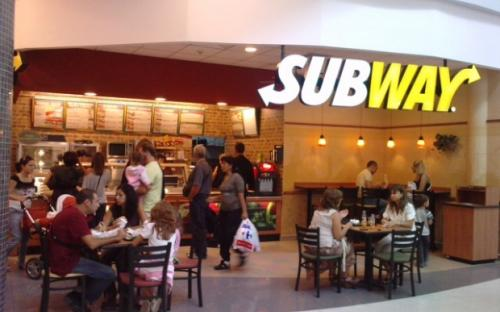 "World chain of quick service restaurants ""Subway"""